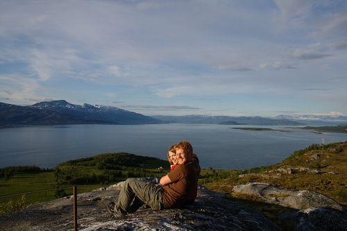 View over Skjærstadfjorden