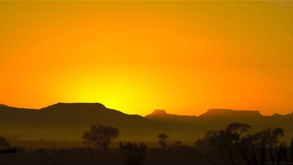 Dawn before Sossusvlei